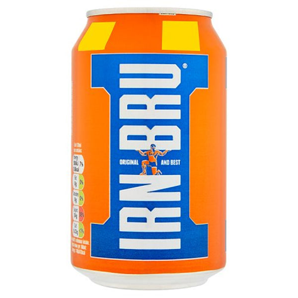 IRN-BRU - 330ml Can - Pack of 24