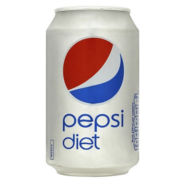 Diet Pepsi - 330ml Can - Pack of 24