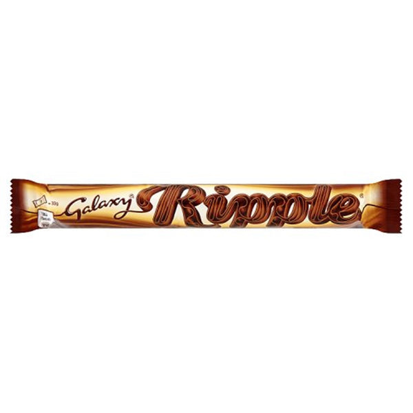 Galaxy Ripple Chocolate Bar - 33g bar - Pack of 36