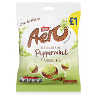 Aero Bubbles Peppermint Chocolate Bag - 80g bag - Pack of 12