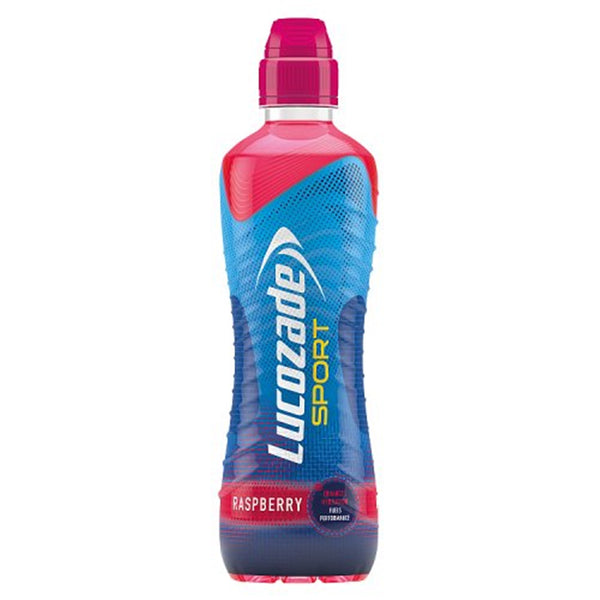 Lucozade Sport Raspberry - 500ml Bottle - Pack of 12