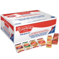 Crawfords Assorted Mini Biscuit Packs - 3 biscuits per individual pack - Pack of 100