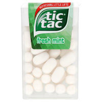 Tic Tac Fresh Mint - 24 pieces - 18g box - Pack of 2