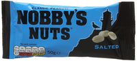 Nobbys Nuts Salted Classic Peanuts - 50g bag - Pack of 24