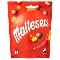 Maltesers Fairtrade Chocolates - 90g pouch - Pack of 13