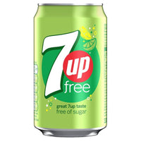 7UP Free - 330ml Can - Pack of 24