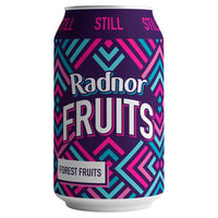 Radnor Fruits Forest Fruit Still Water Drink - 330ml Can - Pack of 24