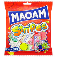 HARIBO MAOAM Stripes - 160g bag - Pack of 12