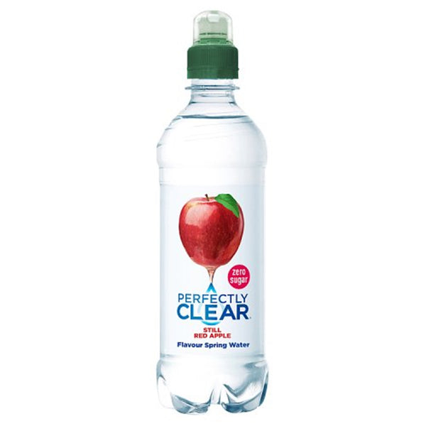 Perfectly Clear Red Apple Still Water - 500ml Bottle - Pack of 12