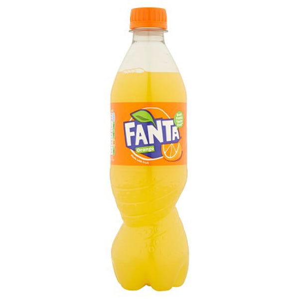 Fanta Orange - 500ml Bottle - Pack of 12