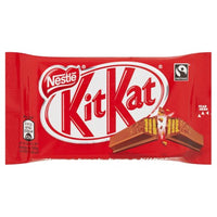 KitKat Milk Chocolate Biscuit Bar - 41.5g 4 finger bar - Pack of 24