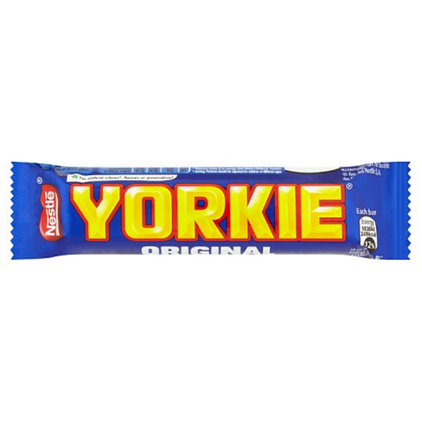 Yorkie Milk Chocolate Bar - 46g bar - Pack of 24