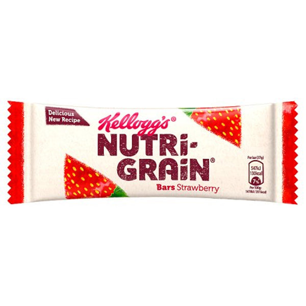 Nutri-Grain Strawberry Breakfast Bar - 37g bar - Pack of 25