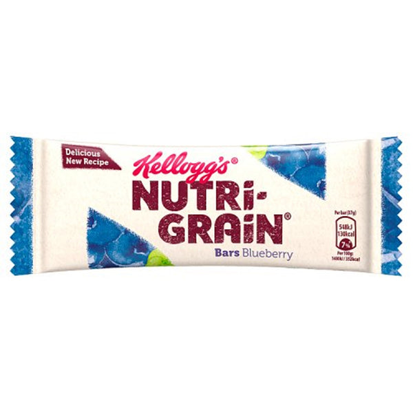 Nutri-Grain Blueberry Breakfast Bar - 37g bar - Pack of 25