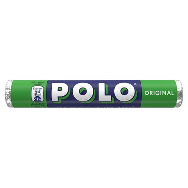 Polo Original Mints Roll - 34g roll - Pack of 32