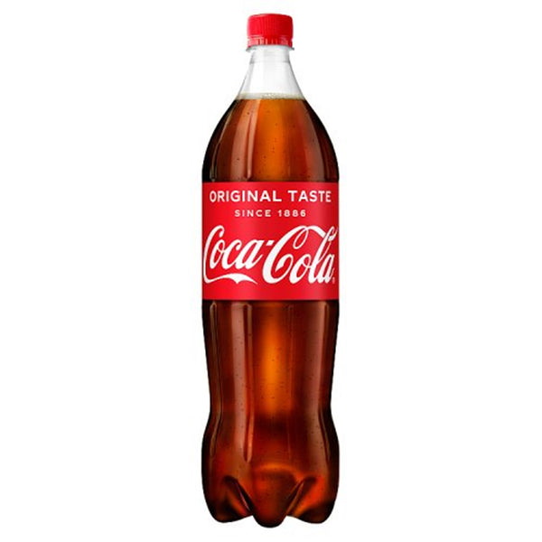 Coca-Cola / Coke - 1.5 Litre Bottle - Pack of 6
