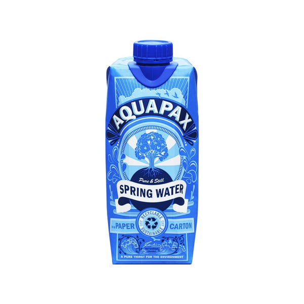 Aquapax Pure Still Sping Water - 500ml Carton - Pack of 12