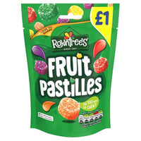 Rowntrees Fruit Pastilles Pouch - 120g Sharing Bag - Pack of 10