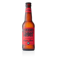 Smashed 0% Lager - Alcohol Free - 330ml - Pack of 12