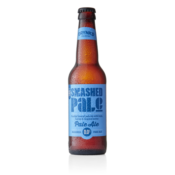 Smashed 0% Pale Ale - Alcohol Free - 330ml - Pack of 12