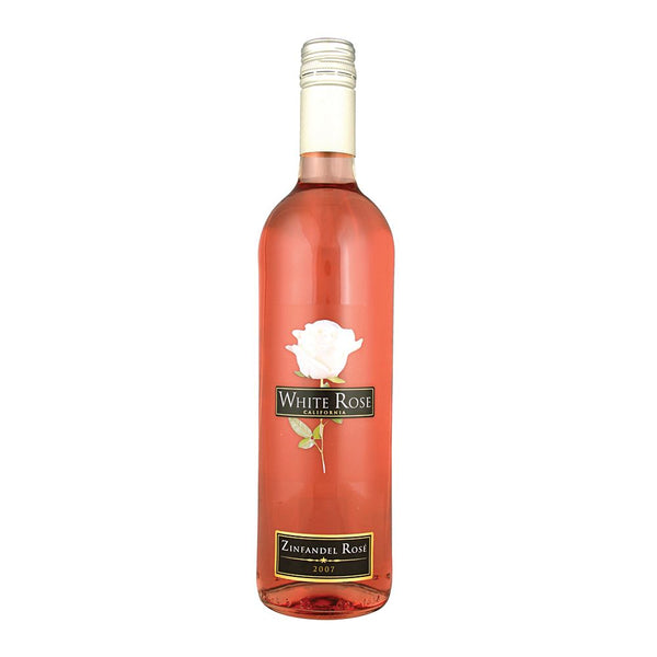 White Rose Zinfandel Rosé  - 75cl Bottle