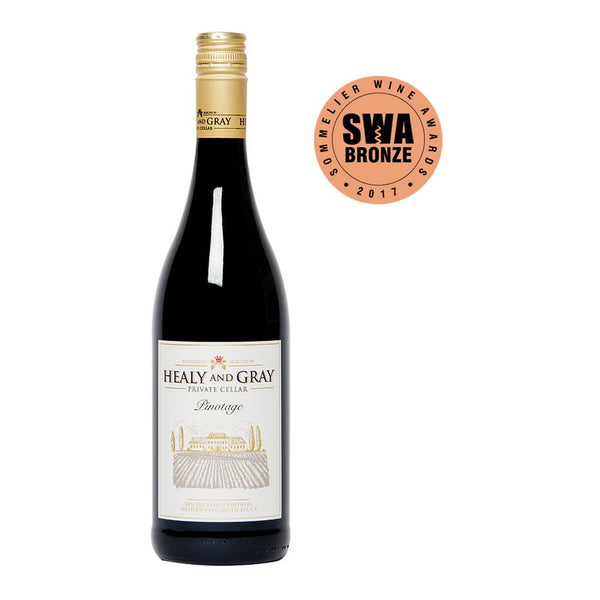 Healy & Gray Private Cellar Pinotage - 75cl Bottle