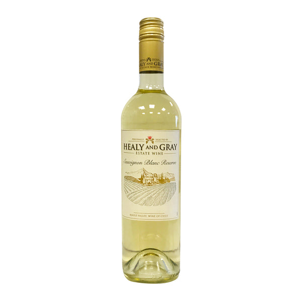 Healy & Gray Estate Wine Reserve Sauvignon Blanc - 75cl Bottle