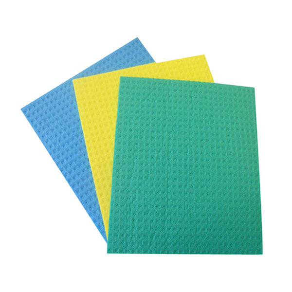 Ramon Hygiene Sponge Cloths - Assorted Colours - Pack of 10