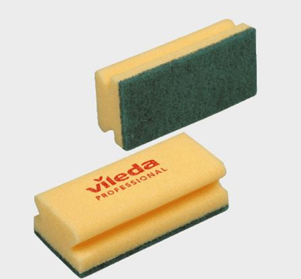 Vileda High Foam Strong Sponge Scourer - Pack of 10