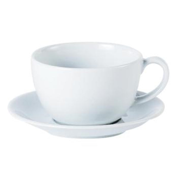 DPS Porcelite Bowl Shaped Cup - White Porcelain - 16oz / 44cl - Pack of 6