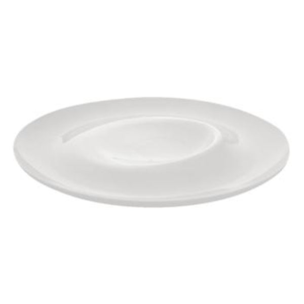 DPS Signature Large Eclipse Plate - White Porcelain - 28cm - Pack of 4