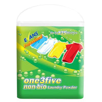 Evans one3five Non-Bio - Non-Bio Laundry Washing Powder - 10Kg Box - 135 washes