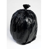 RPC Bin Liner/ Black Refuse Sack -16 x 25 x 39 inches - Pack of 200