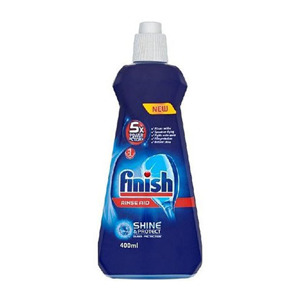 Finish Dishwasher Rinse Aid - 400ml Bottle