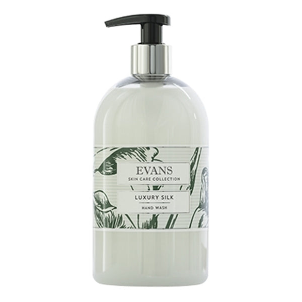 Evans Luxury Silk - Enriched Hand, Hair & Body Wash - 500ml Bottle