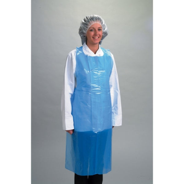 Polaris Disposable Aprons - Blue - Pack of 100