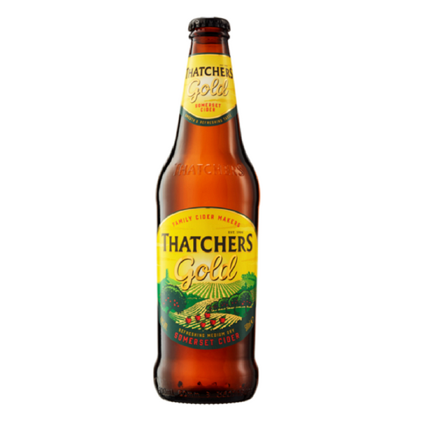 Thatchers Gold Cider - 500ml - Pack of 6