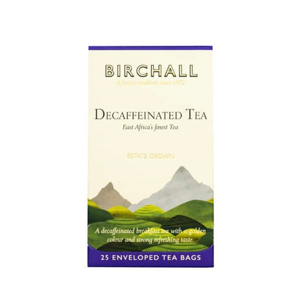 Birchall Decaffeinated Tea - 25 Enveloped Tea Bags