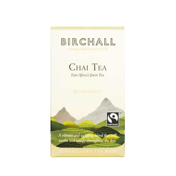 Birchall Chai Tea - 25 Enveloped Tea Bags