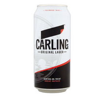 Carling Lager - 500ml - Pack of 24