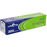 Caterwrap Professional Catering PVC Cling Film - 30cm x 300m