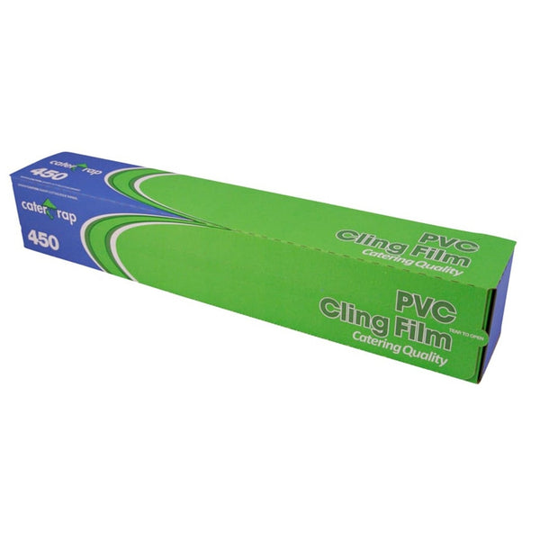Caterwrap Professional Catering PVC Cling Film - 45cm x 300m