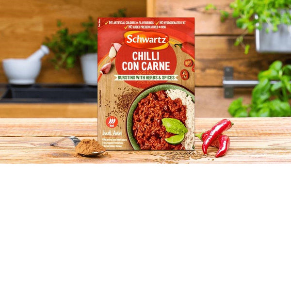Schwartz Chilli Con Carne Mix - 41g Sachet - Pack of 6
