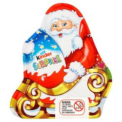 Kinder Surprise Chocolate Santa Figure