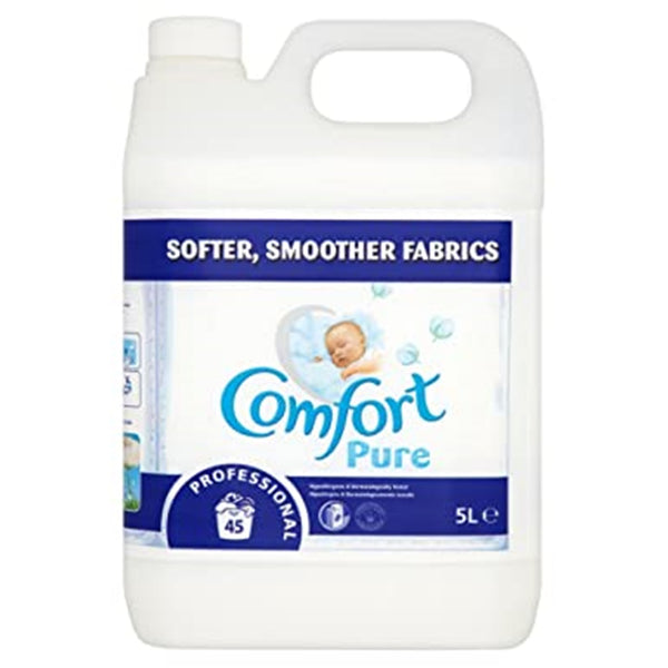 Comfort Pure Fabric Softener - White - 5 Litres