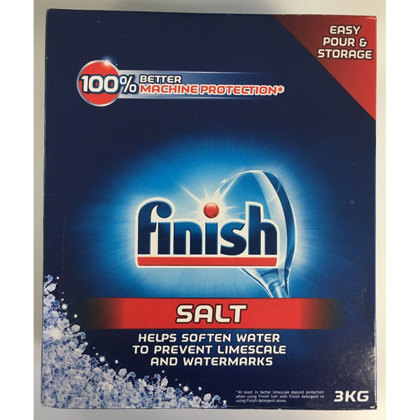 Finish Dishwasher Salt - 3Kg box