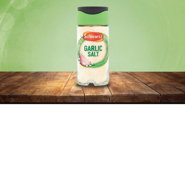 Schwartz Garlic Salt - 73g Jar - Pack of 6