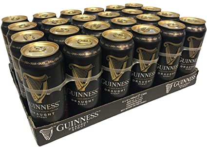 Guinness Draught Stout - 440ml Can - Pack of 24