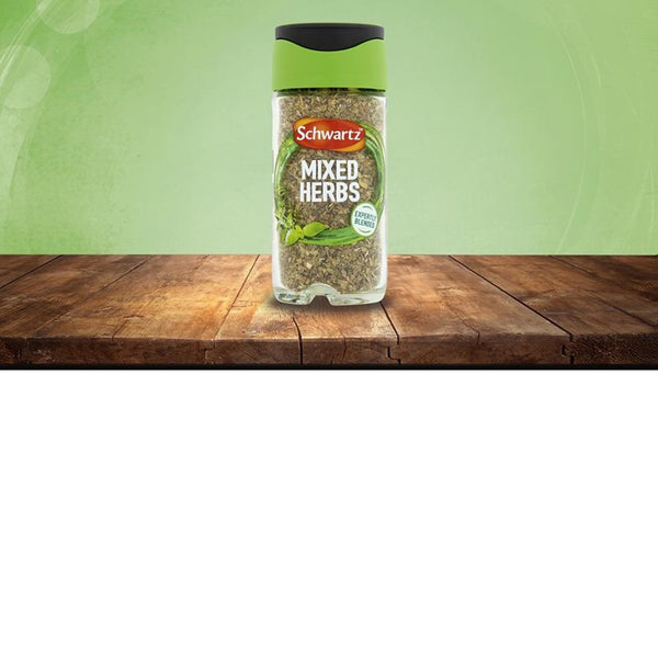 Schwartz Mixed Herbs - 9g Jar - Pack of 6