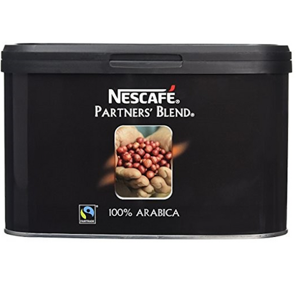 Nescafe Partners Blend Fairtrade Instant 100% Arabica Coffee - 500g tin